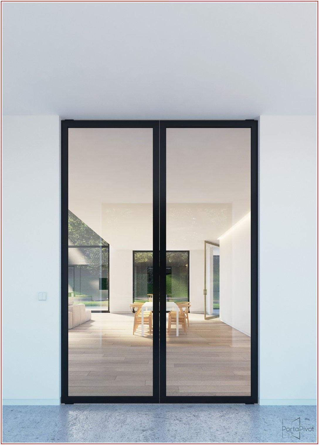 Black Aluminium Sliding Patio Doors