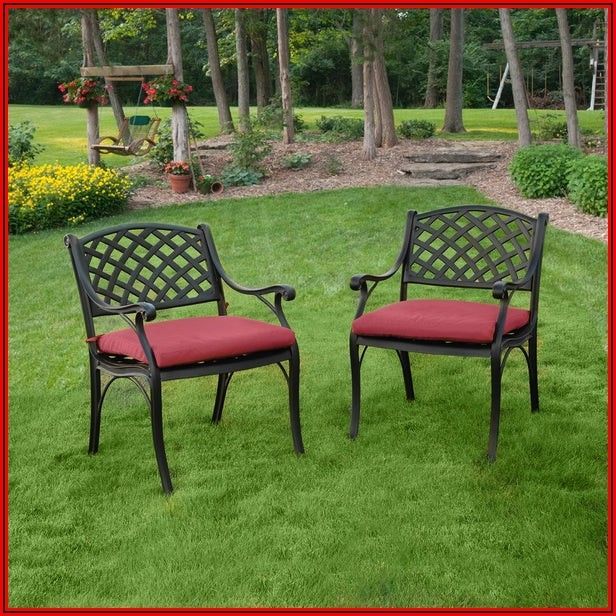 Black Aluminum Patio Chairs