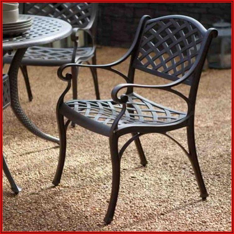 Black Cast Iron Patio Furniture