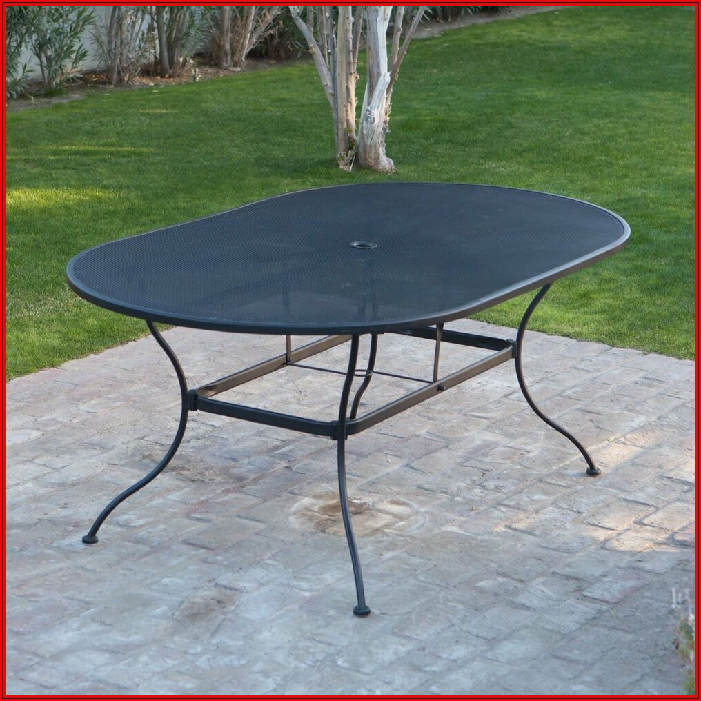 Black Mesh Patio Table And Chairs