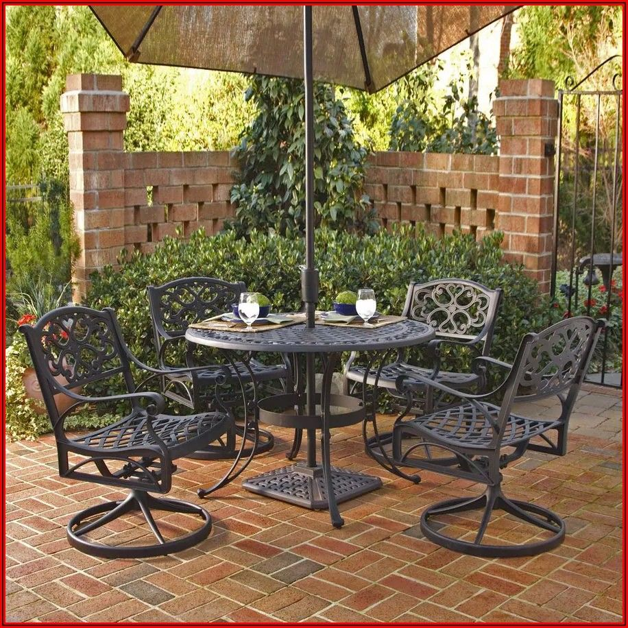 Black Metal Outdoor Patio Furniture