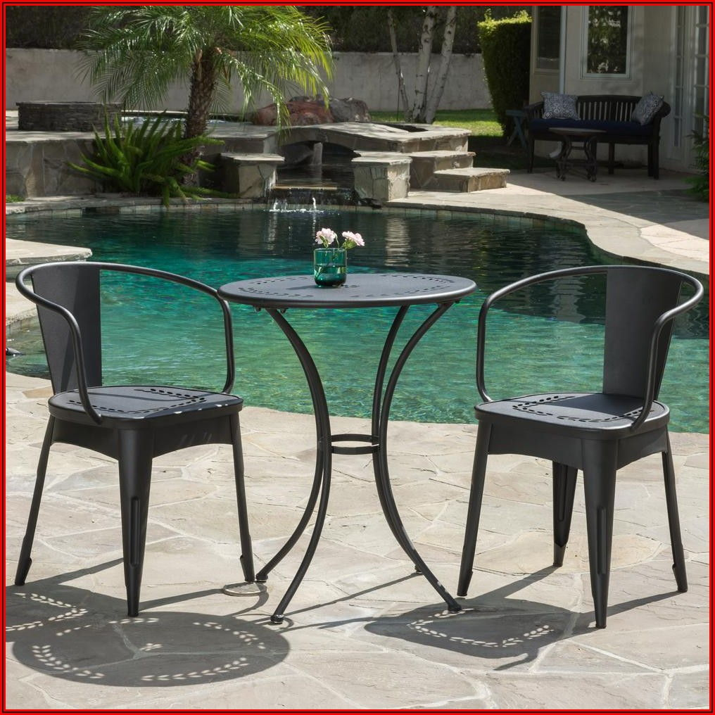 Black Metal Patio Furniture Home Depot