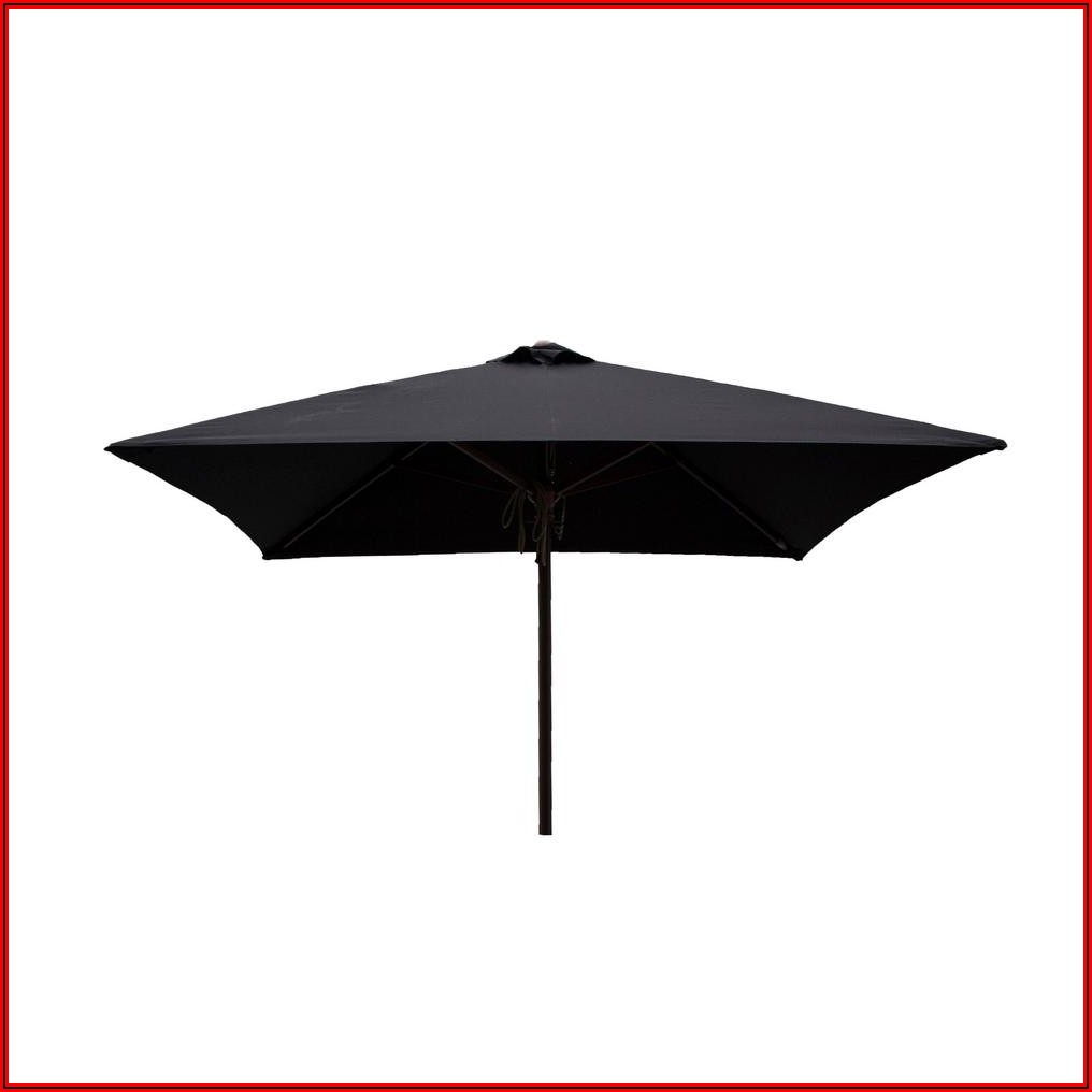 Black Outdoor Patio Umbrellas