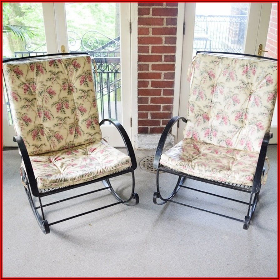 Black Patio Chairs With Cushions