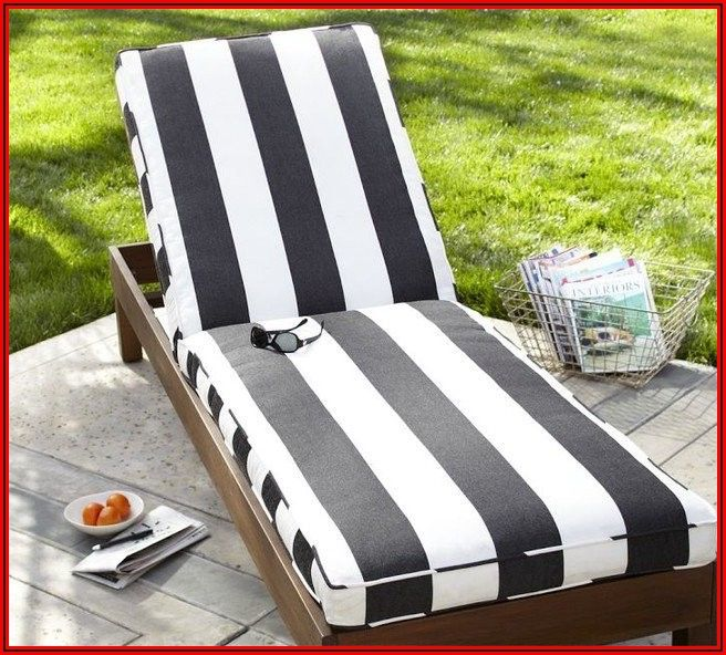 Black Patio Furniture With White Cushions