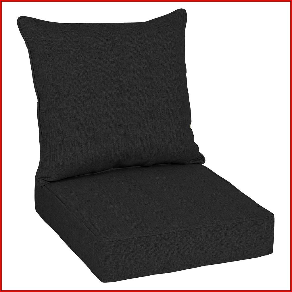 Black Patio Seat Cushions