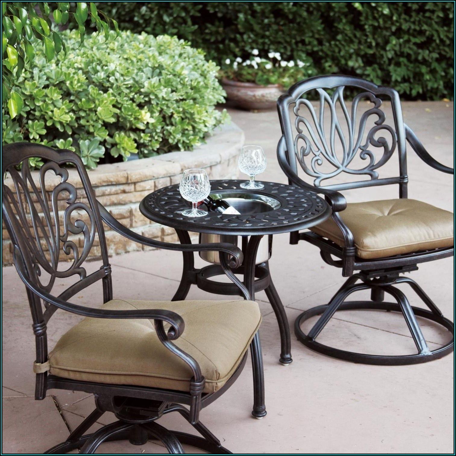 Black Rod Iron Patio Furniture