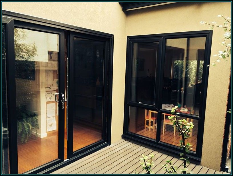 Black Sliding Glass Patio Doors
