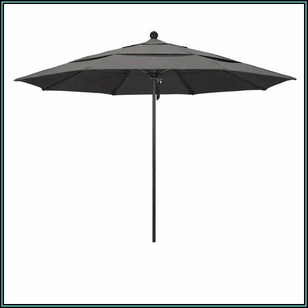 Black Sunbrella Patio Umbrella