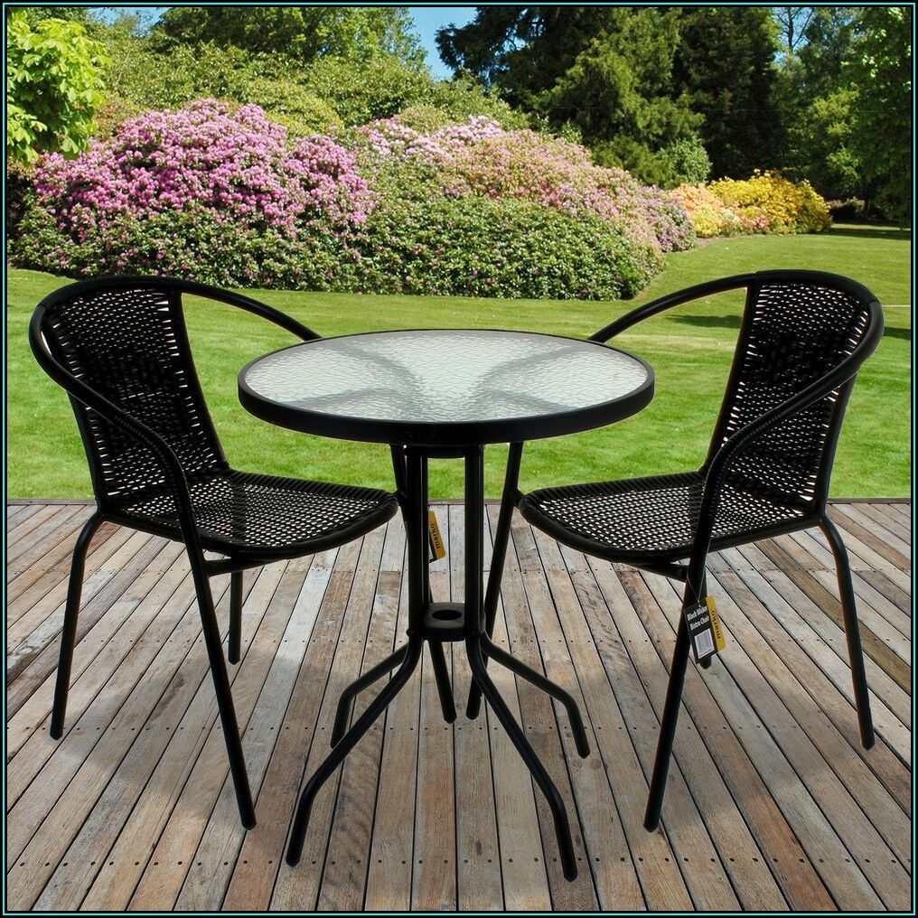 Black Wicker Patio Table And Chairs