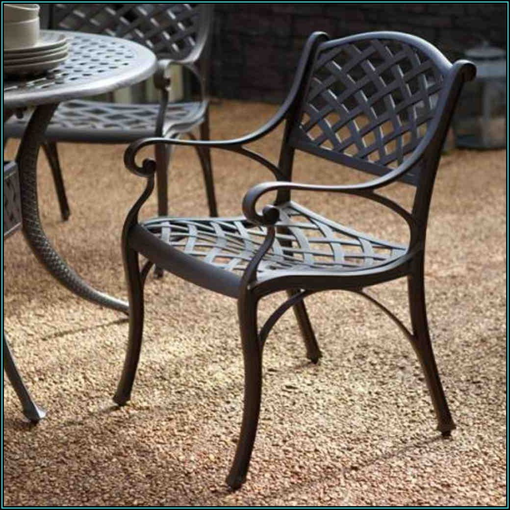 Black Wrought Iron Patio Chairs
