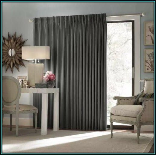 Blackout Patio Door Curtain Panel