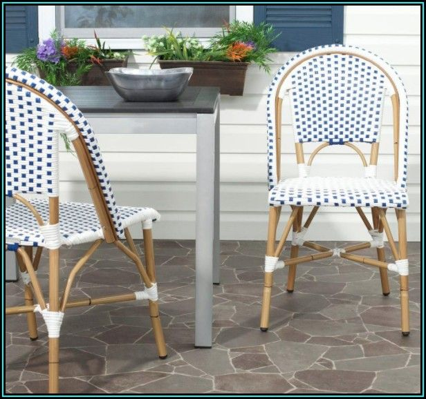 Blue Patio Dining Chairs