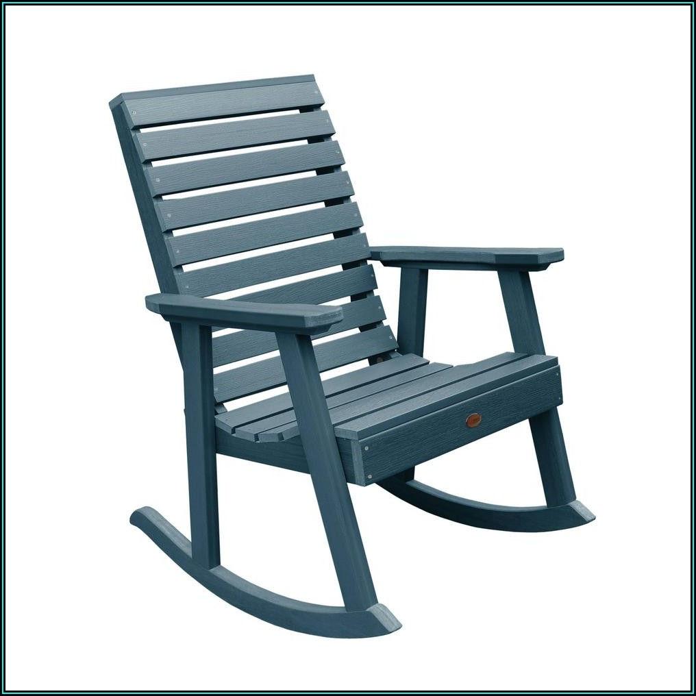 Blue Plastic Patio Chairs