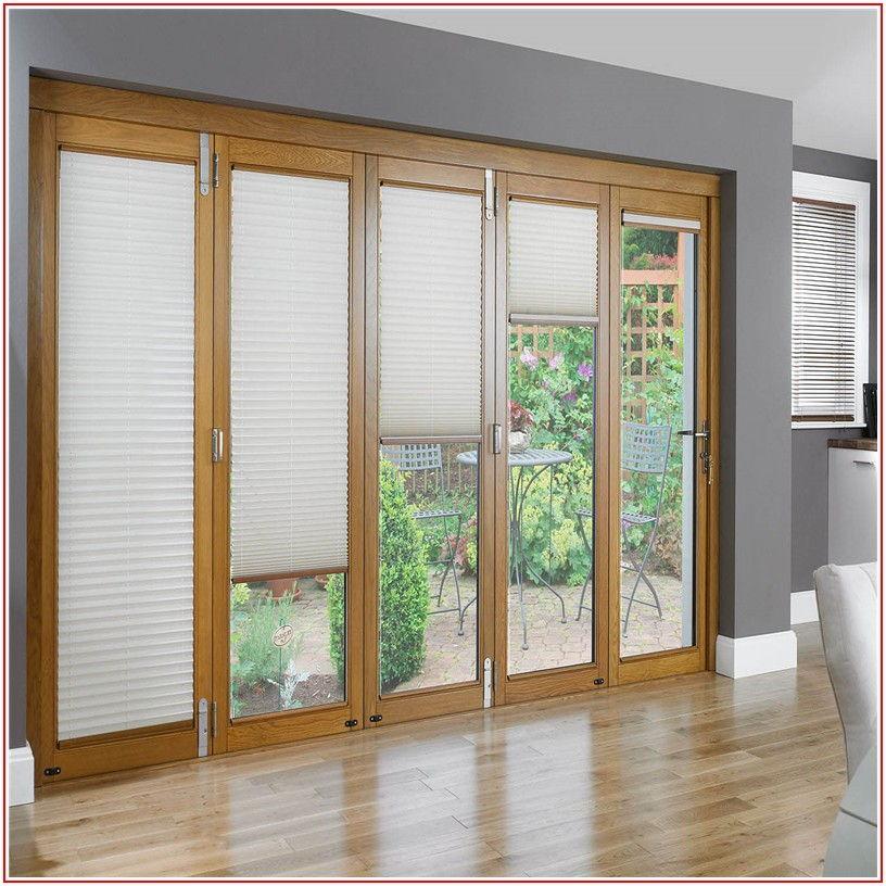 Brown Aluminium Sliding Patio Doors