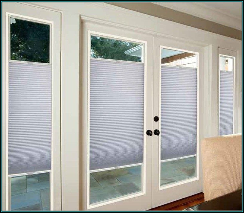 Double Door Patio Door Blinds