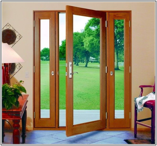 Exterior 3 Panel French Patio Door