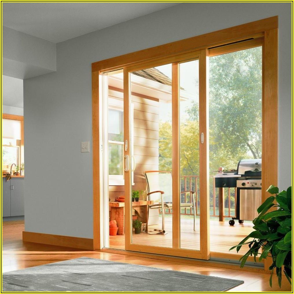 Exterior Andersen 3 Panel Sliding Patio Door