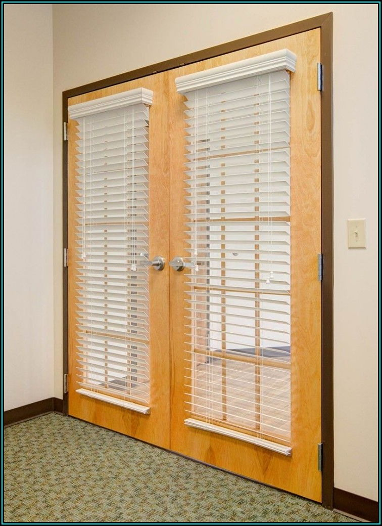 French Doors Patio Door Blinds Ideas
