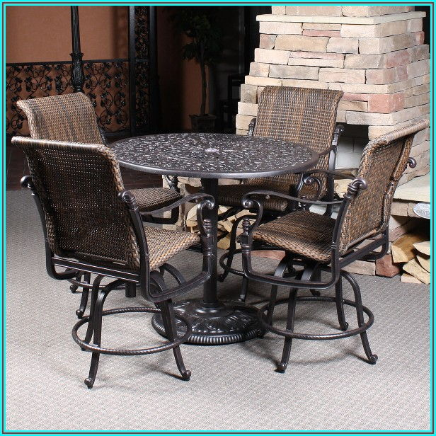 Outdoor Patio Furniture Bar Height