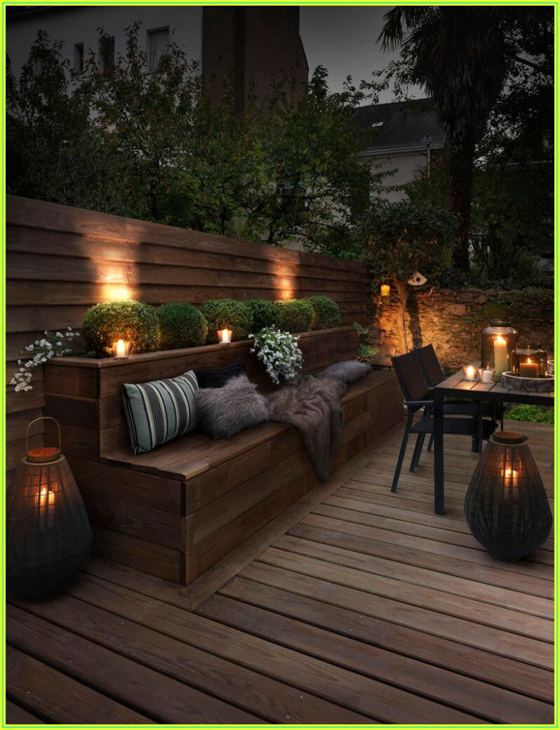 Patio Backyard Garden Lighting Ideas
