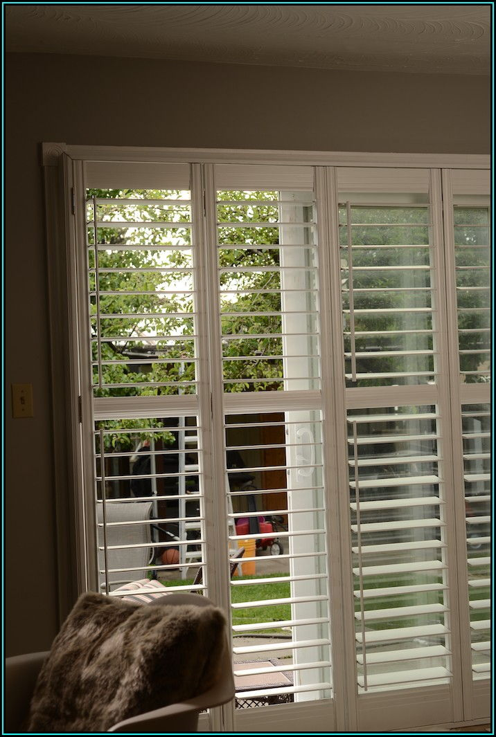 Patio Door Blinds Sliding Door