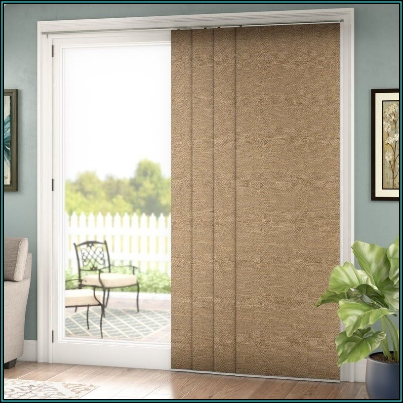 Patio Door Sliding Glass Door Blinds
