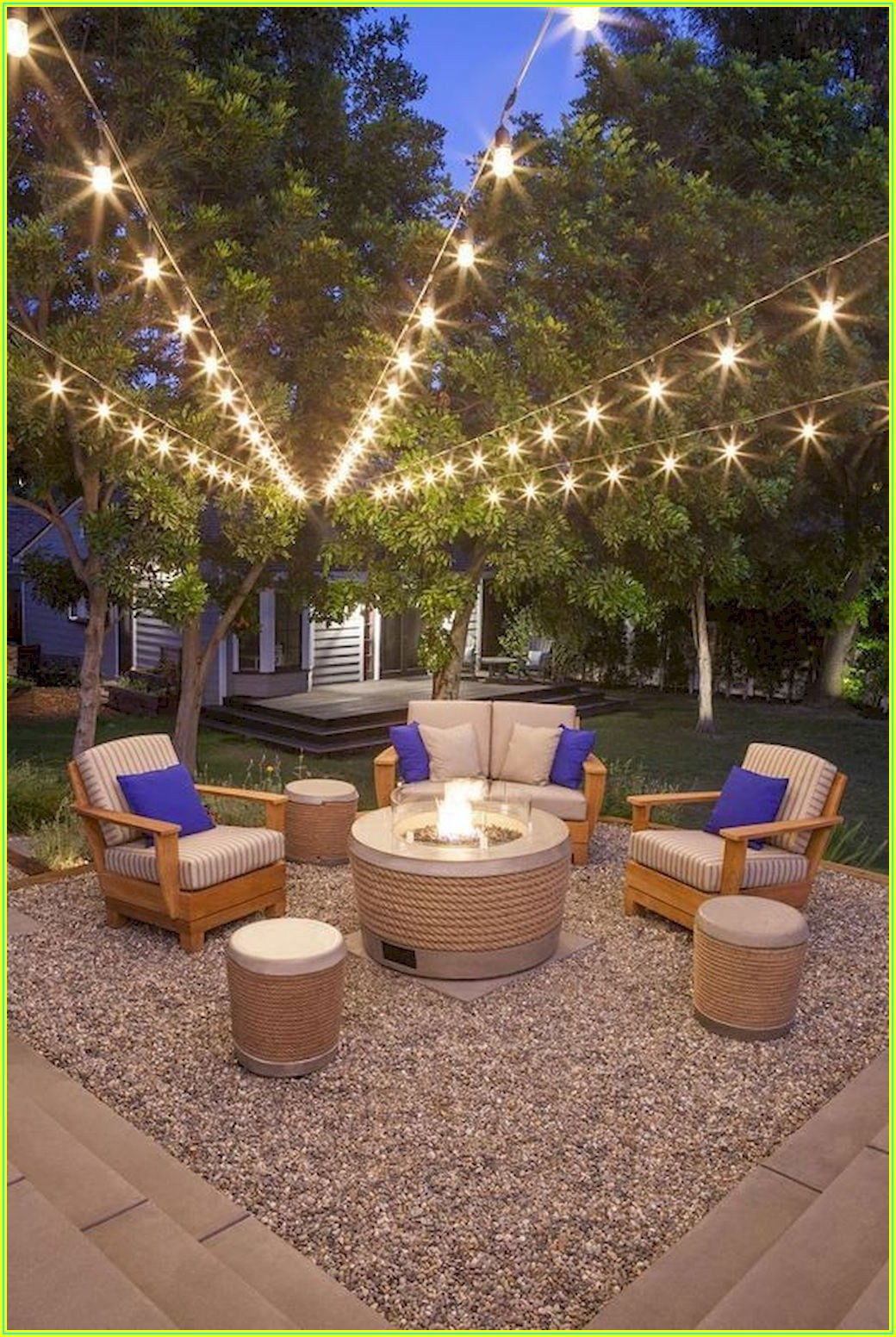 Small Back Patio Lighting Ideas