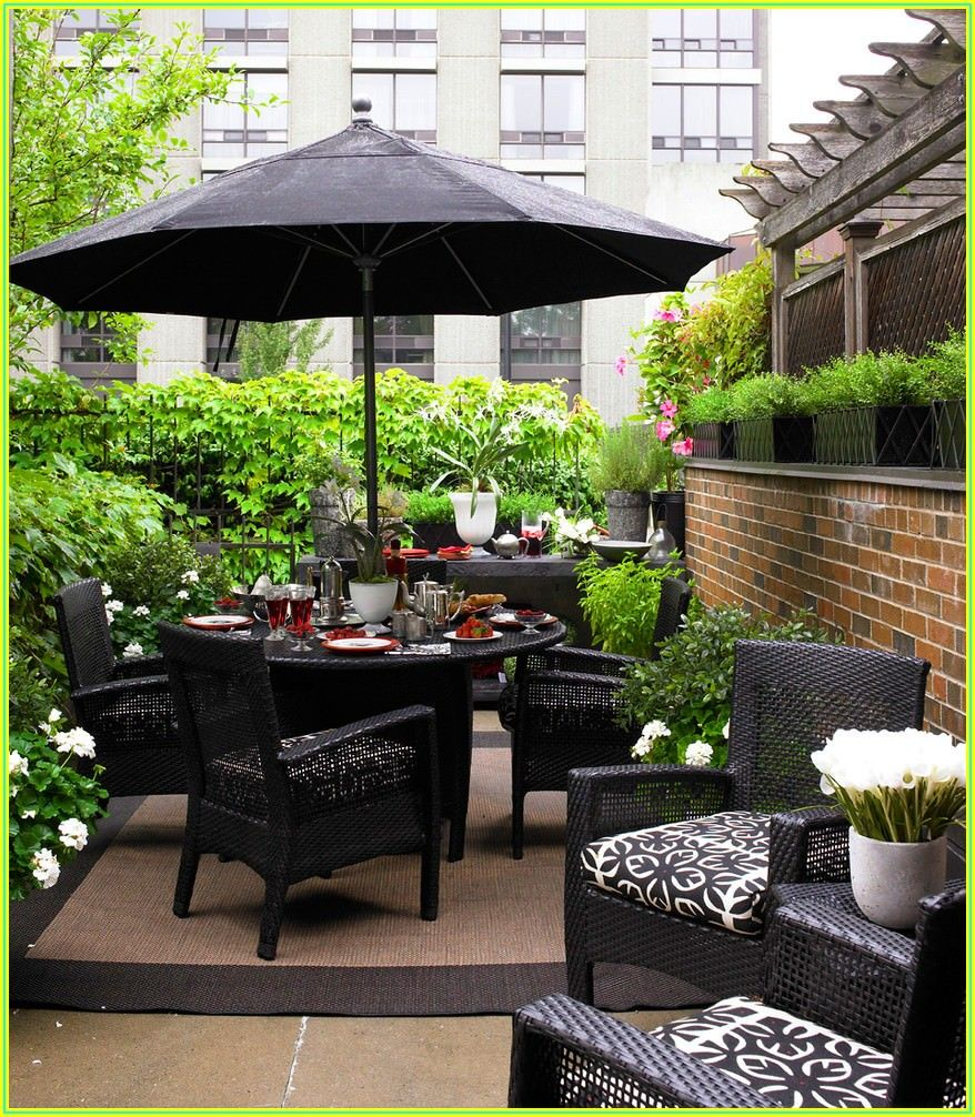 Small Backyard Patio Furniture Ideas