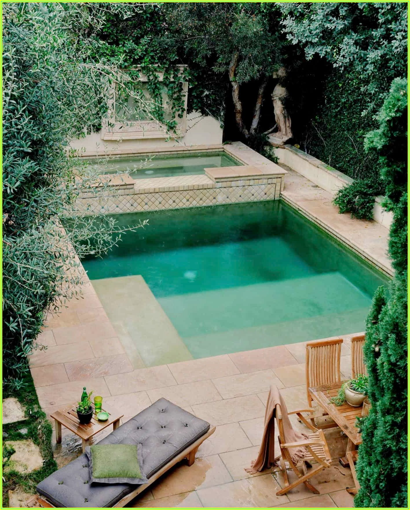 Small Backyard Pool And Patio Ideas