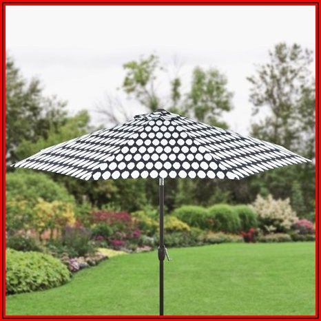 Walmart Black And White Patio Umbrella