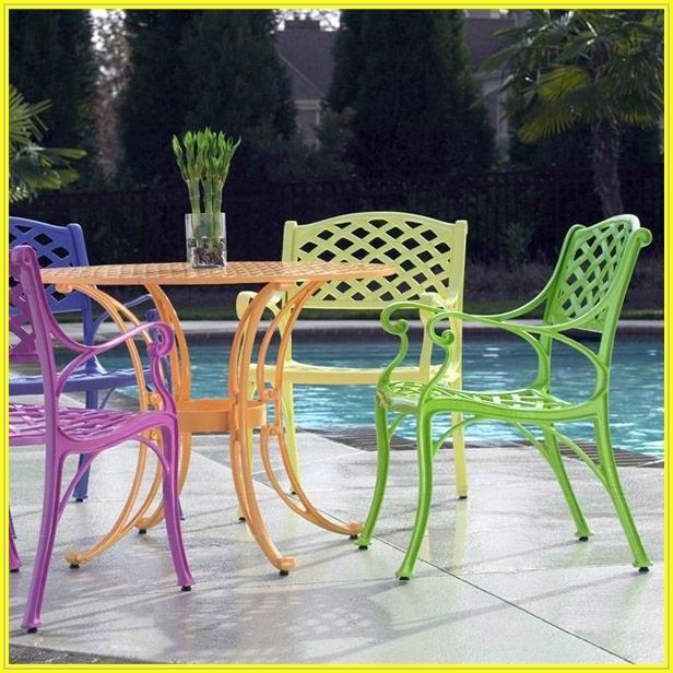 Bright Colored Patio Chairs