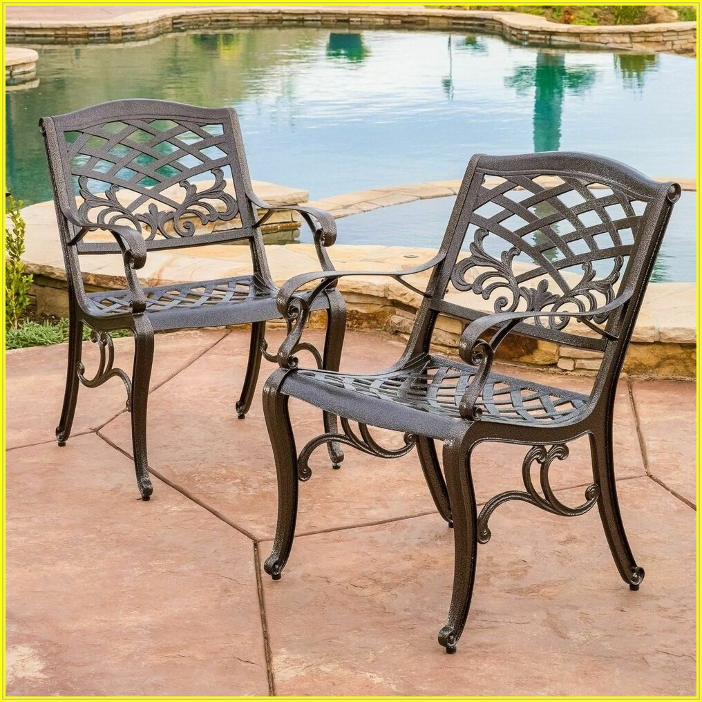 Bronze Cast Aluminum Patio Furniture