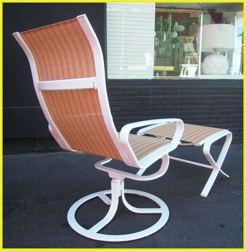 Brown Jordan Swivel Patio Chairs