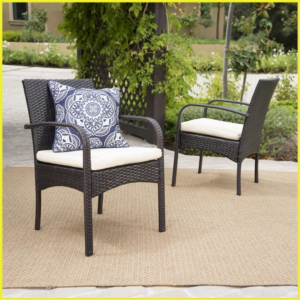 Brown Patio Chair Cushions