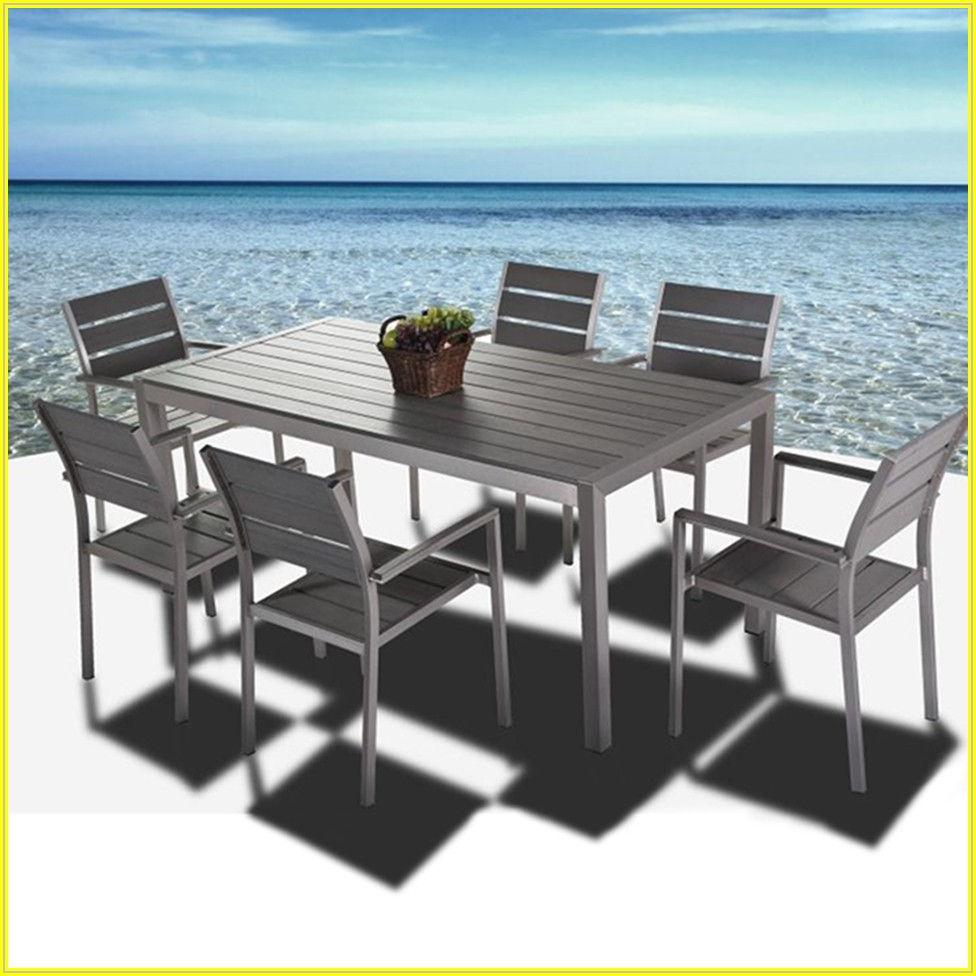 Brushed Aluminum Patio Furniture