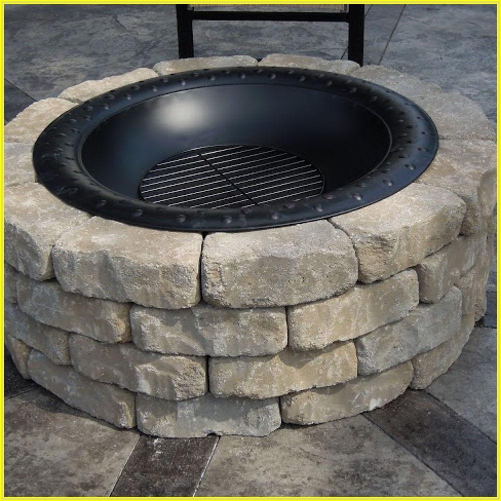 Build Fire Pit On Concrete Patio