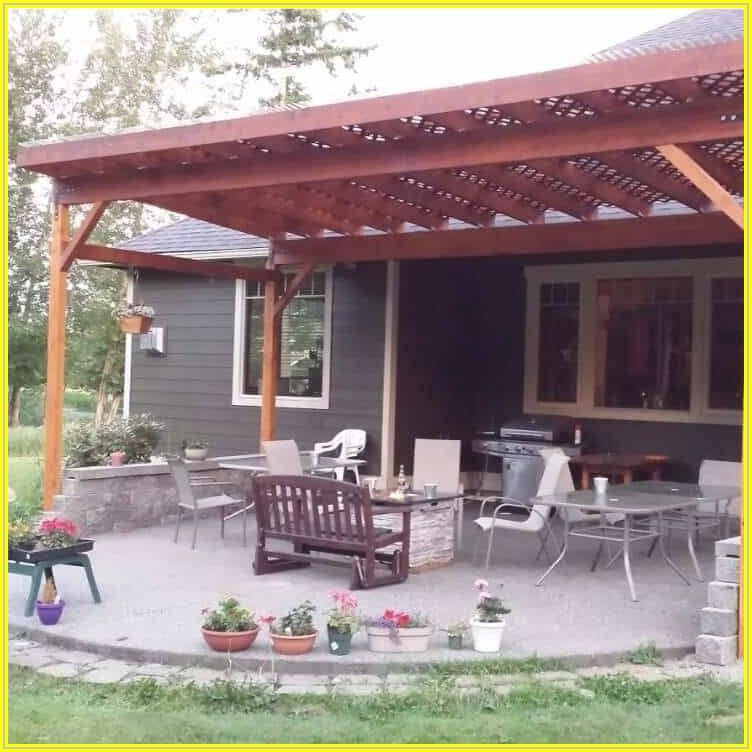 Build Outdoor Covered Patio