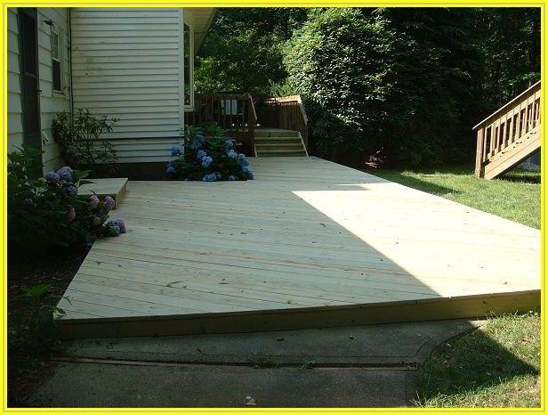 Build Wooden Deck Over Concrete Patio