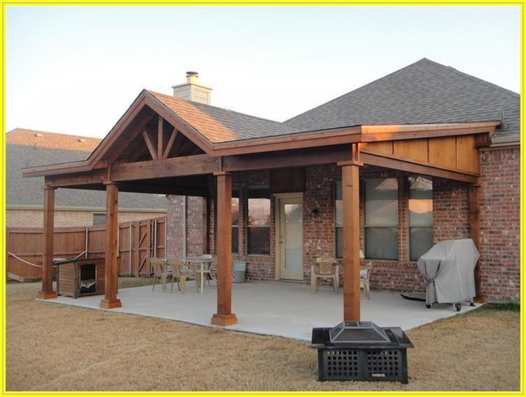 Building A Back Patio Roof