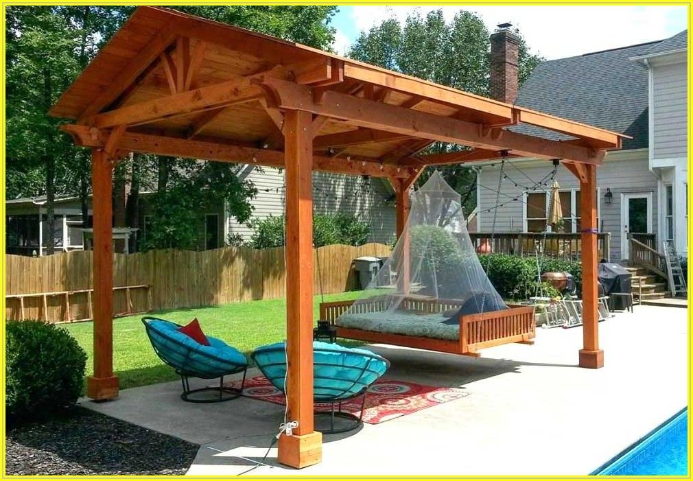 Building A Backyard Patio Cover