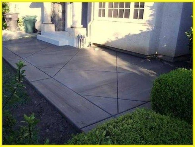 Building A Cement Patio