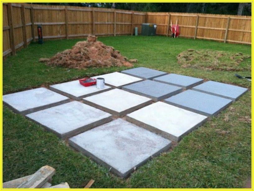 Building A Concrete Patio Slab