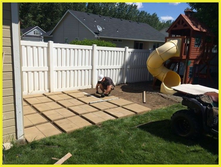 Building A Patio Out Of Pavers