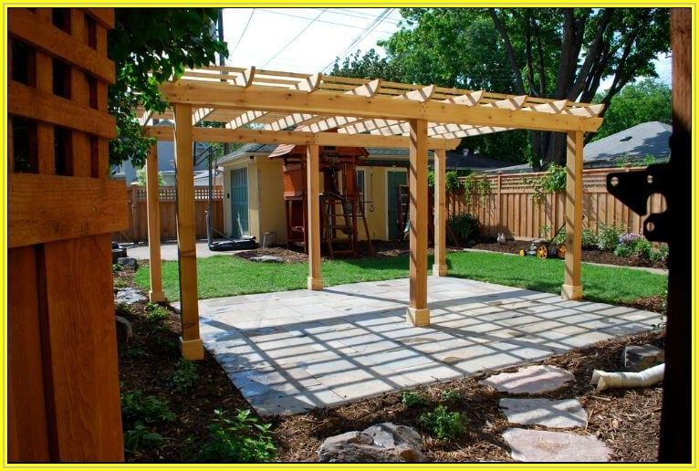 Building A Pergola On A Patio