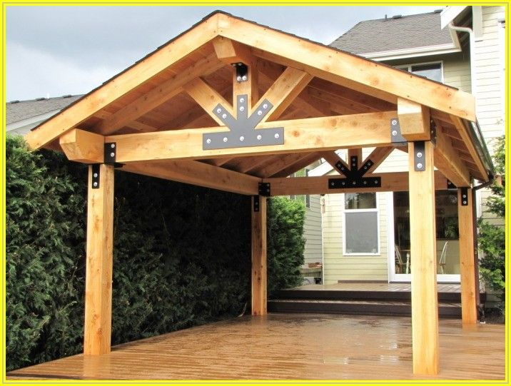 Building A Wood Patio Cover