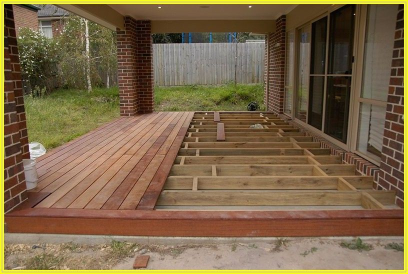 Building Over A Patio Slab