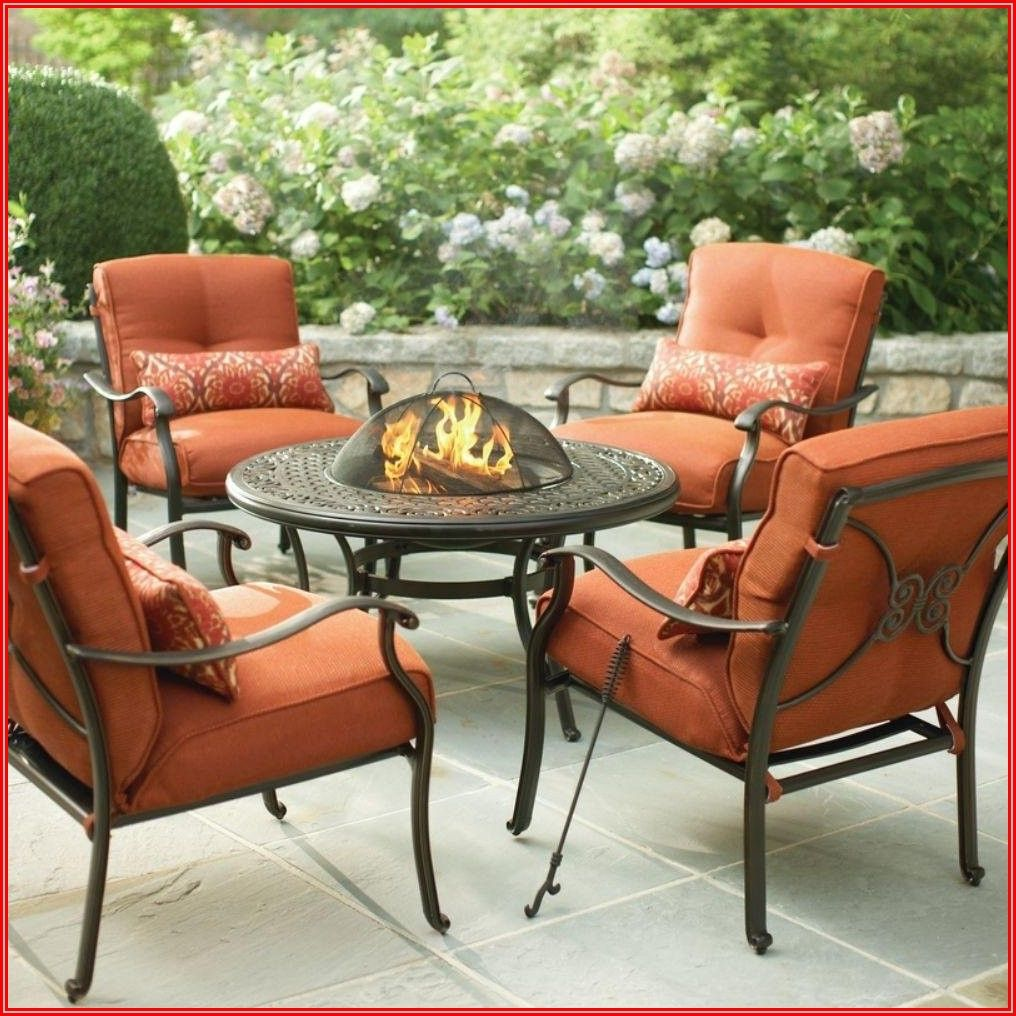 Burnt Orange Patio Furniture