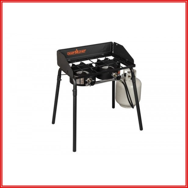 Camp Chef Patio Cover For 3 Burner Stoves With Folding Legs