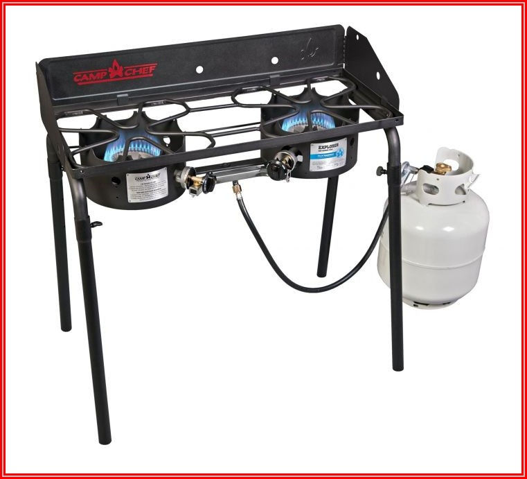 Camp Chef Patio Cover For 3 Burner Stoves With Removable Legs